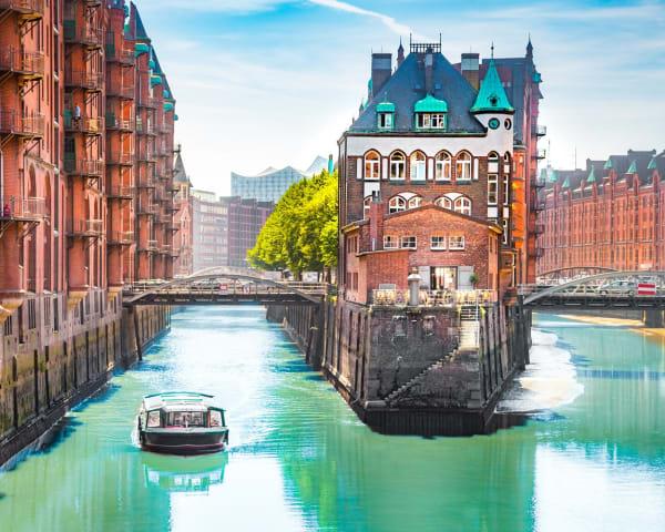 Oslo – Hamburg med sightseeing (M)