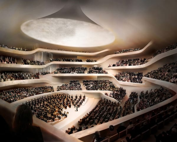 Hamburger Kunsthalle og konsert med Andrea Bocelli i Elbphilarmonie (F, M)