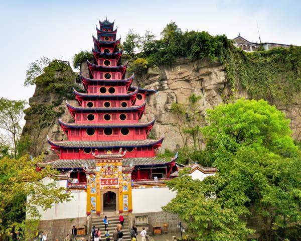 Shibao Pagoda (F, L, M)