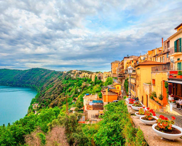 Vandring Castel Gandolfo til Nemi (F, M)