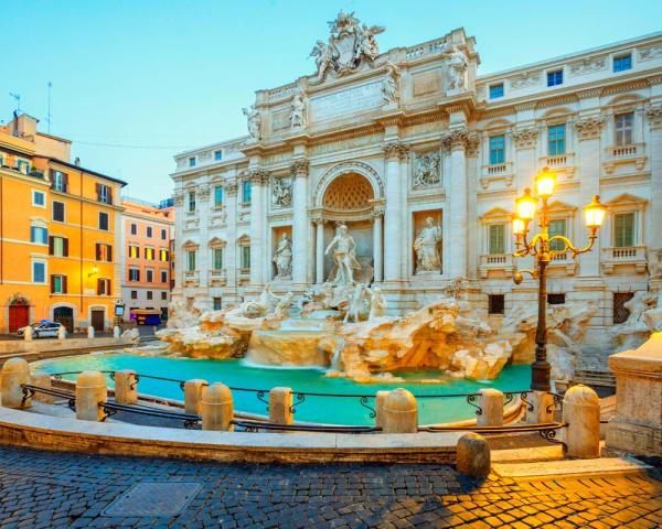 Tog til Roma med byvandring (F)