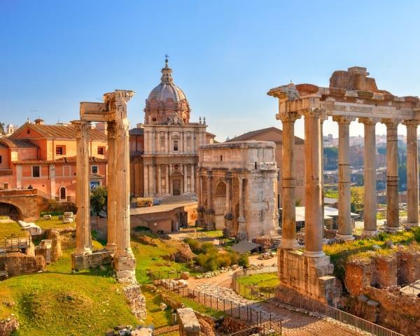 Colosseum og Forum Romanum (F)