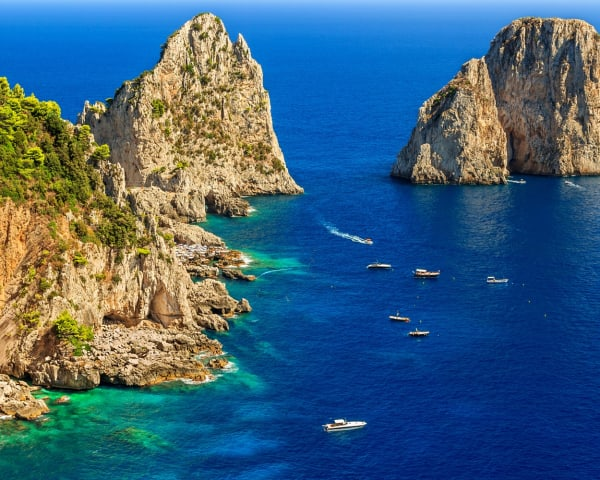 Fridag med mulighet for ekstra utflukt til Capri (F, M)
