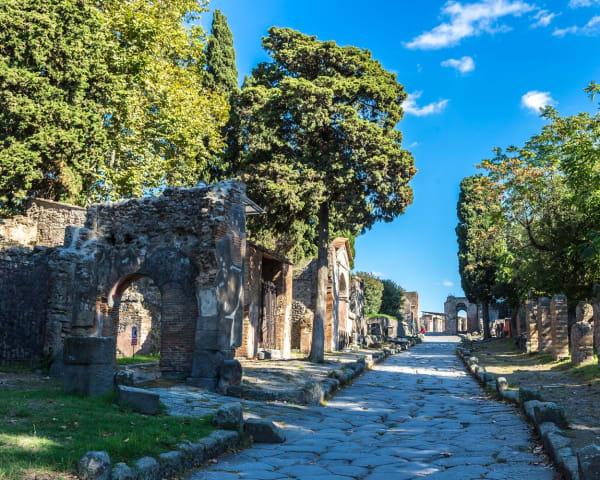 Pompeii og Vesuv (F)