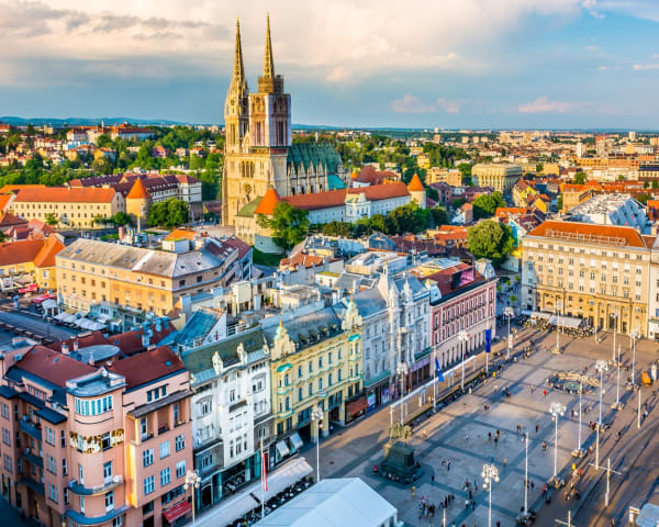 Byvandring i Zagreb (F, L, M)