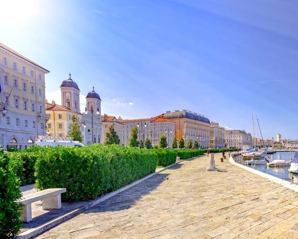 Fridag / Ekstra utflukt til Trieste i Italia og Piran i Slovenia (F, M)