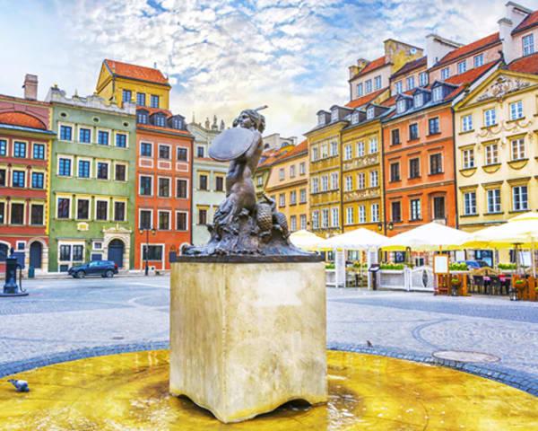 Rundtur Warszawa og konsert med Andrea Bocelli (F, L)