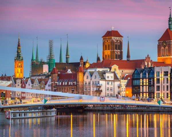Byvandring i Gdansk (F)