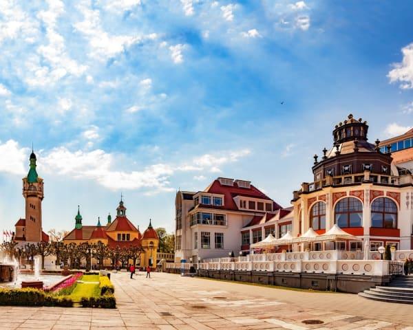 Besøk til Solidaritetssenteret og tur til Sopot (F, L)