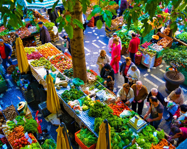 Byvandring i Funchal