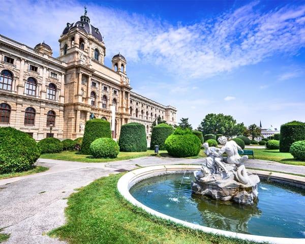 Wien med sightseeing
