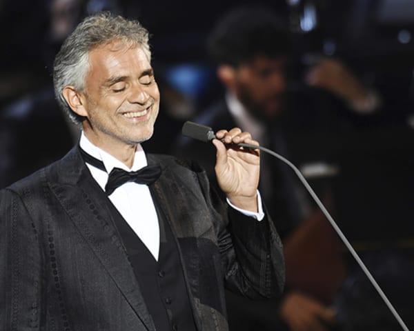 Fridag og konsert med Andrea Bocelli (F)