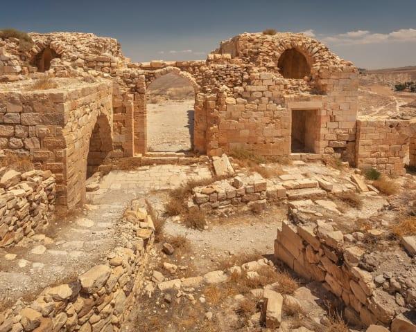 Mount Nebo - Madaba - Wadi Mujib - Petra (F, L, M)