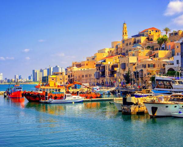 Fottur i Telv Aviv og gamlebyen Jaffa (F, M)