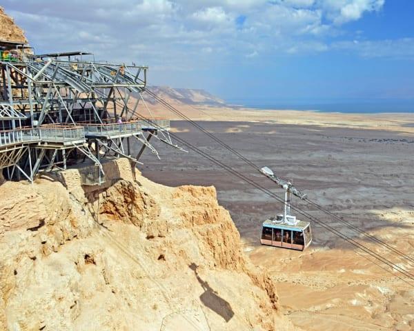 Kibbitztur, Masada og Dødehavet (F, M)