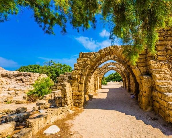 Caesarea, Carmelfjellet og Nazareth (F, M)