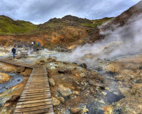 Vandretur på Reykjanes (F, ML)