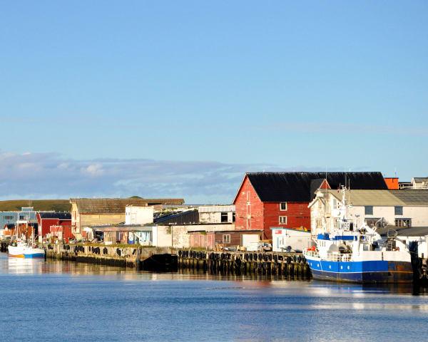 Kirkenes – Hurtigruten seiler mot Berlevåg (F, L)