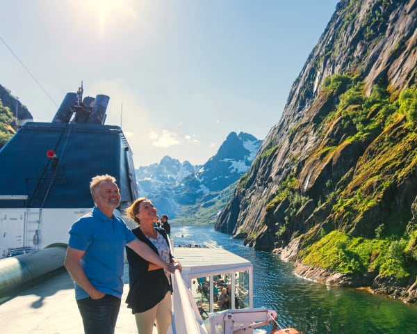 Hurtigruten videre mot Lofoten og Bodø (F, L)
