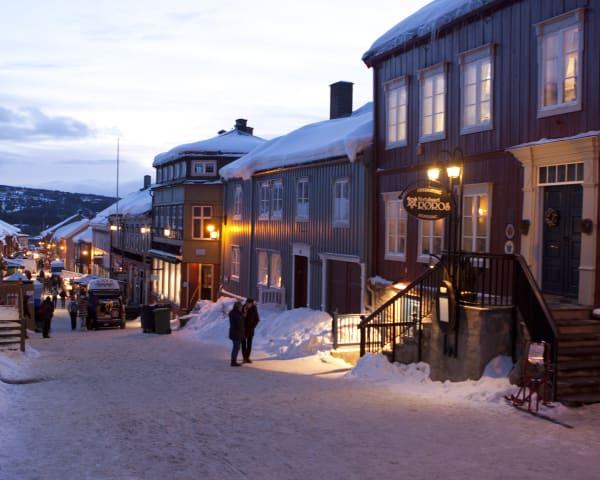 Bergstadvandring med besøk i Røros Kirke (F, M)