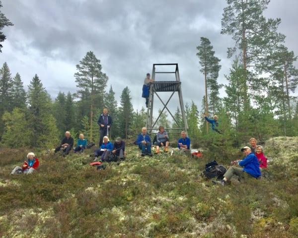 Finnskogtoppen – Vålbergklinten – Kalsjøen – Raisahå (F, M)