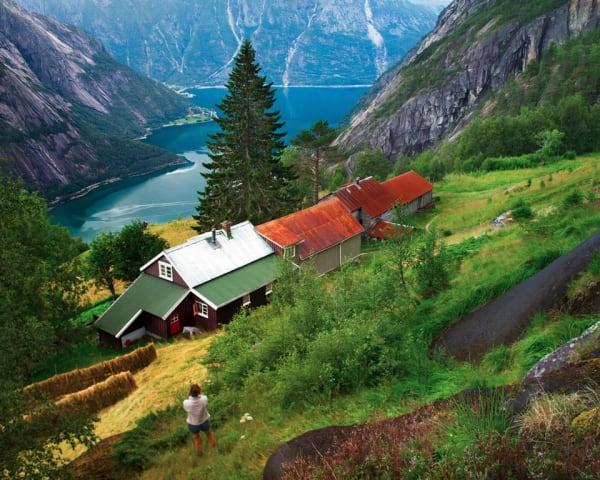 Utflukt til Eidfjord og Kjeåsen -100 km (F, L, M)