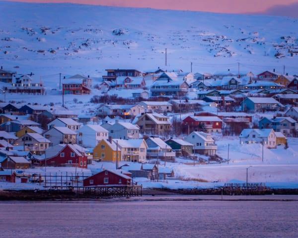 Båtsfjord – Vadsø – Kirkenes (F, M)