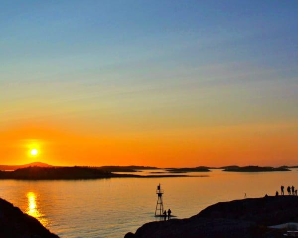 Oslo-Gardermoen – Bardufoss – Hamn, Senja  (L, M)
