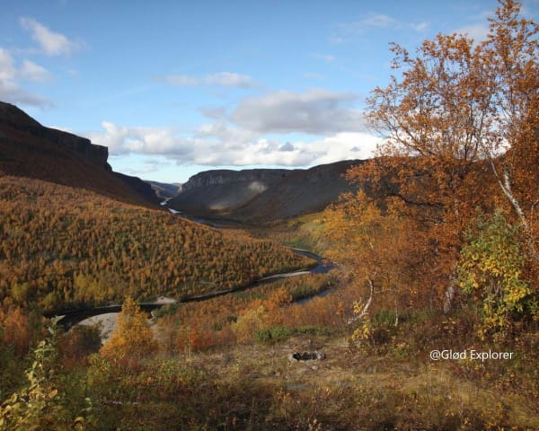 Vandring Sautso/Alta canyon (F, L)
