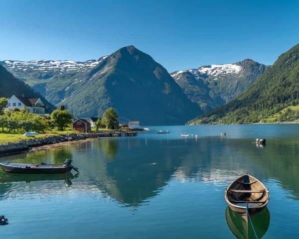 Bergen - Sognefjorden – Balestrand (F, M)