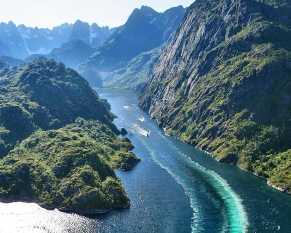 Svolvær – Båttur til Trollfjorden (F, L, M)