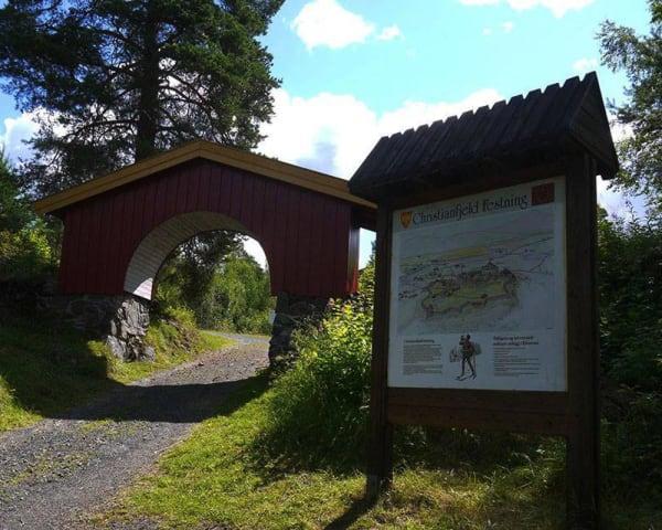 Vandring Christianfjeld festning, Terningmoen, Midtskogen og Løten (F)