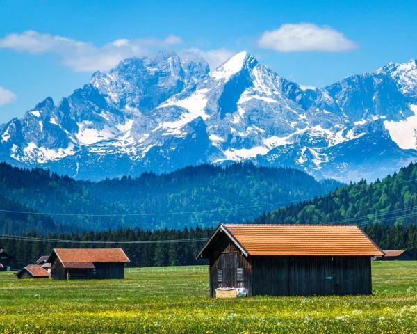 Utflukt til Garmisch-Partenkirchen og Linderhof