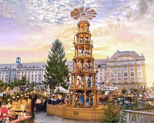 Dresden - sightseeing og julemarked
