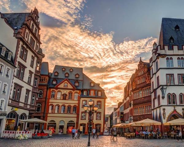 Vandring i Trier og valgfri utflukt: Mosel m/vinsmaking (F, M)