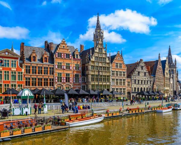Gent, mulighet for byrundtur (F, L, M)