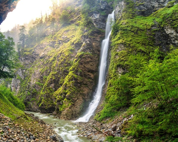 Utflukt til Liechtensteinklamm Naturerlebnis (F, M)
