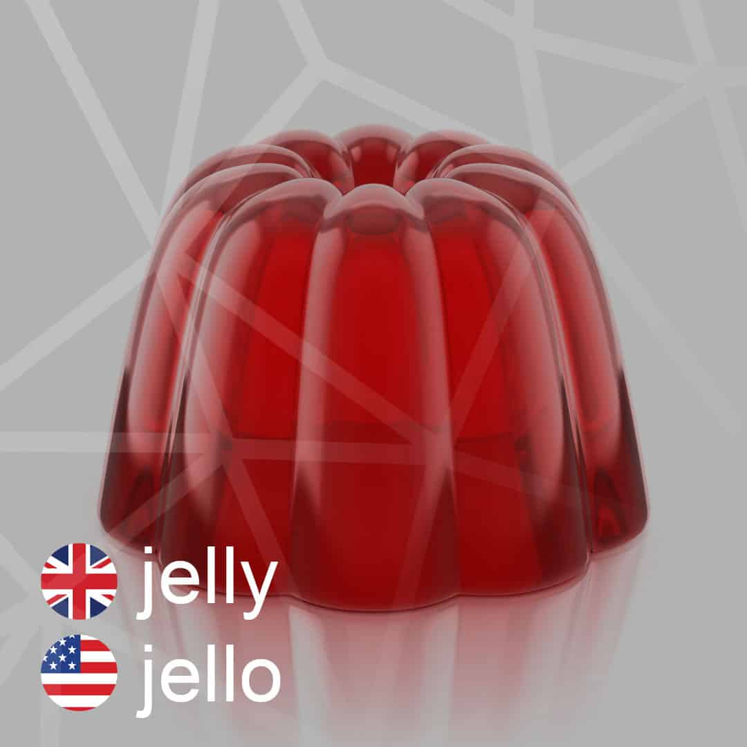 jelly - jello - zele