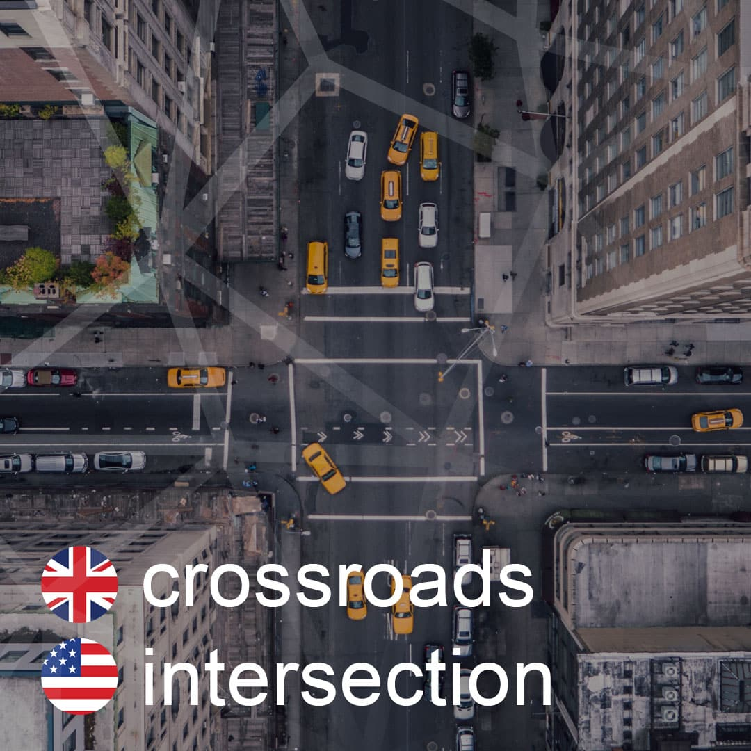 crossroads - intersection - krizovatka