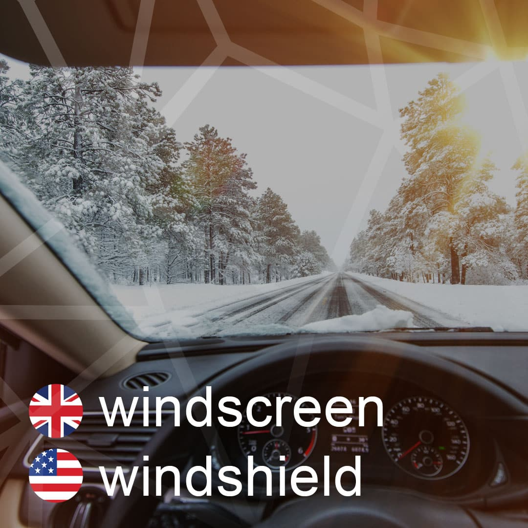 windscreen - windshield - celne-sklo