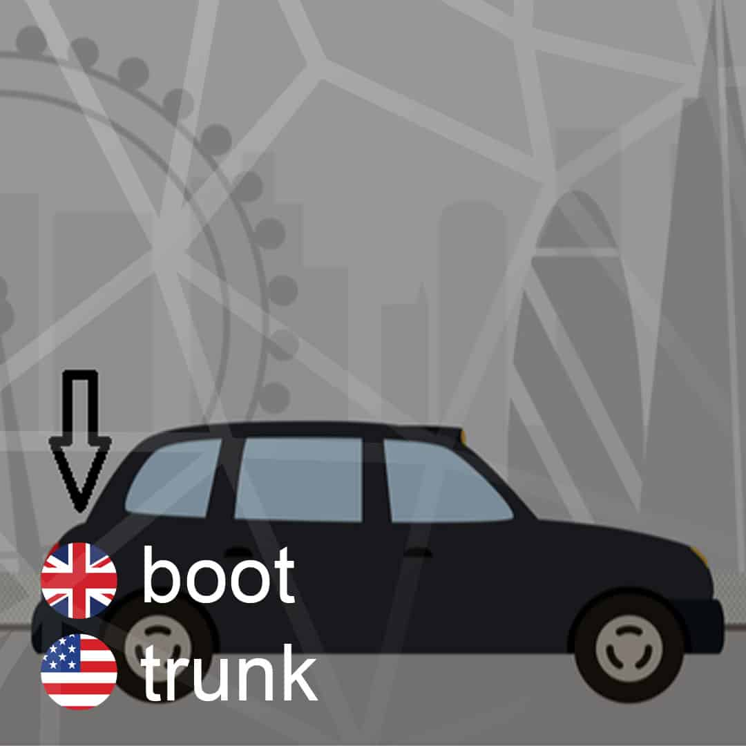 boot - trunk - kufor