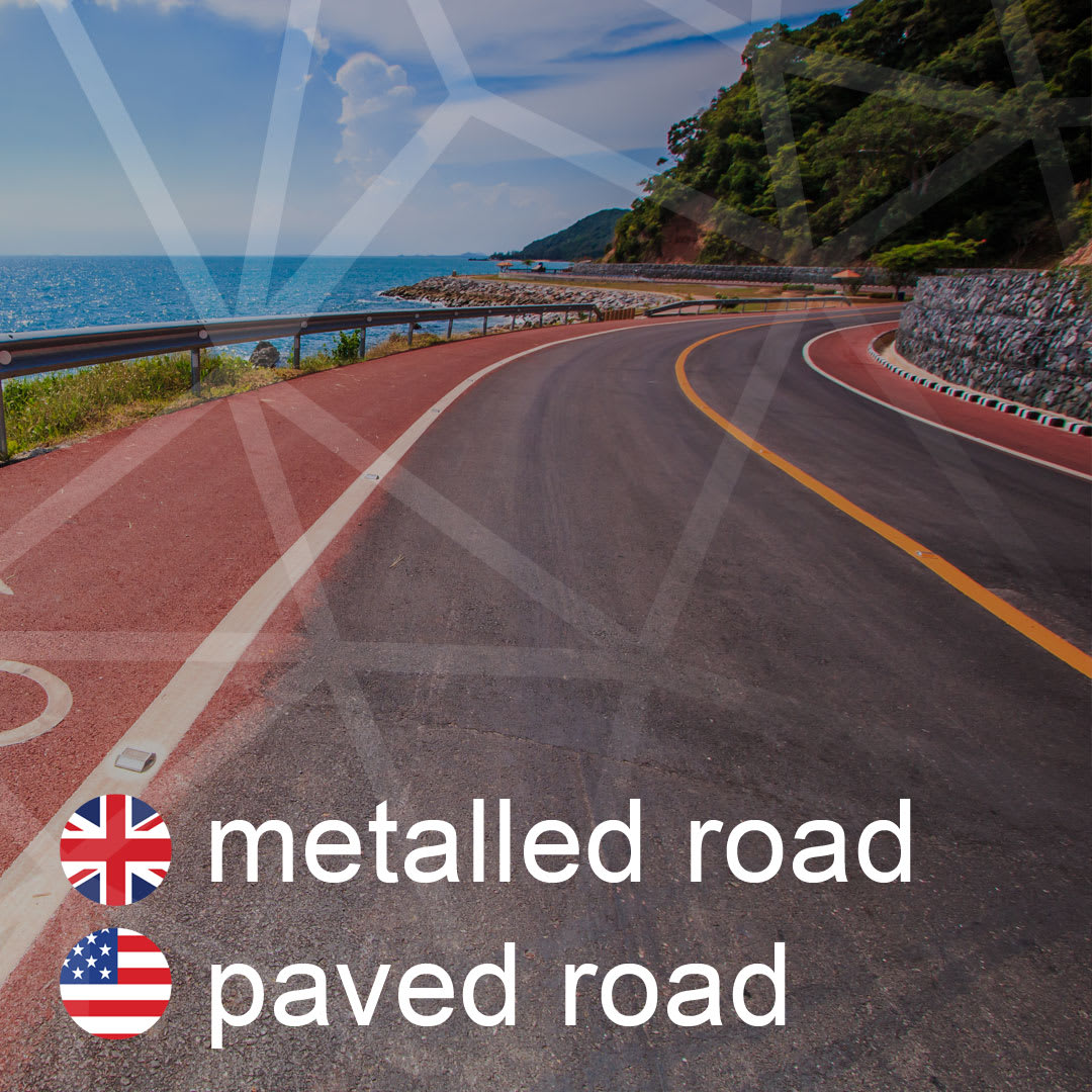 metalled-road - paved-road - spevnena-cesta