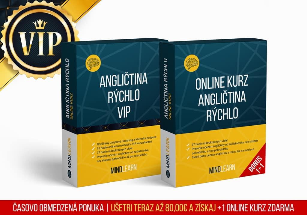 Objednávka Online Kurz Angličtina Rýchlo VIP