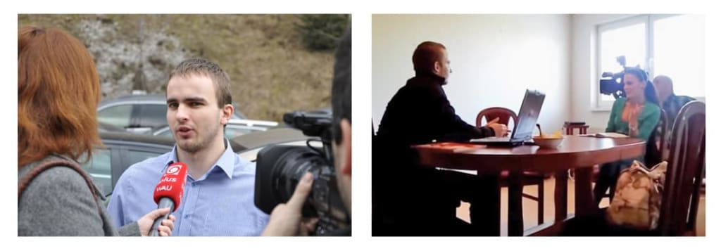 Martin Hlinka v médiach a v TV