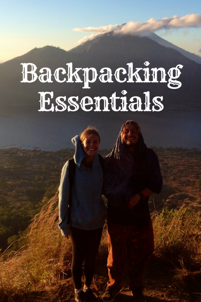 Backpacking essentials, the items I never backpack without