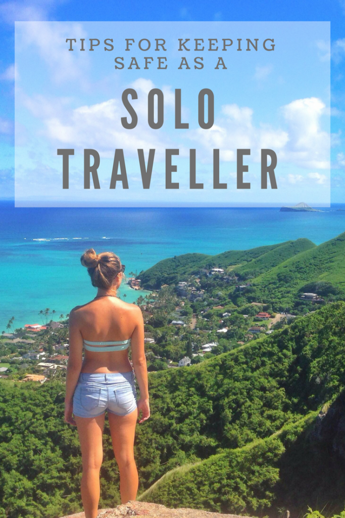 Tips for keeping safe as a solo traveller