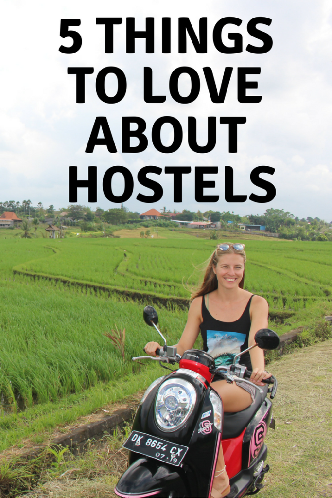 5 things to love about hostels