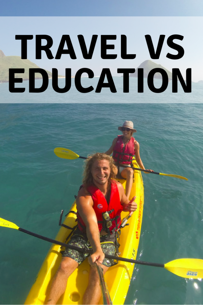 Travel VS Education