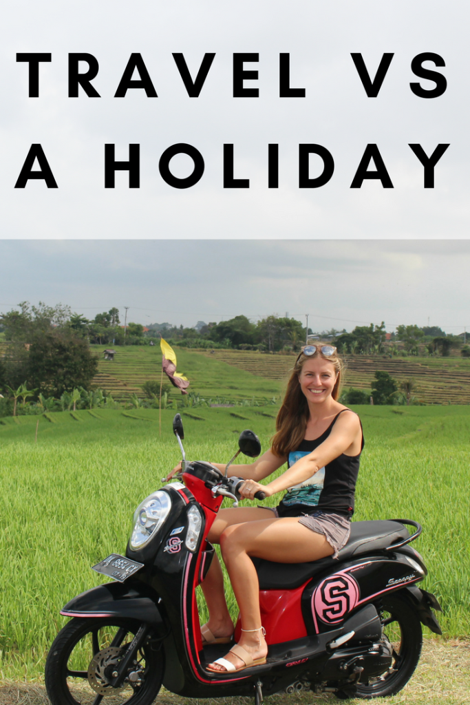 Travel or a holiday