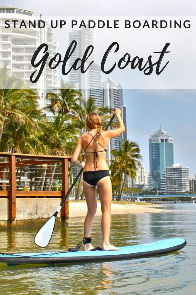 Stand Up Paddle Boarding Budds Beach Gold Coast